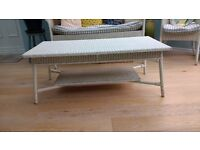 Lloyd loom table for sale £30