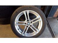 Bmw m sport wheel & tyres