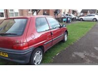 Good little trust worthy car. For sale £550 or swap for 5 door car with same aize engine