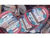 Wholesale Job Lot of 40 Tubes of Travel Toothpaste