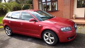 Audi A3 2.0 TFSI S- TRONIC 7f1k FSH 1 PREV OWNER Excellent condition