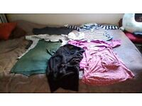 NEW LOWER PRICE!!! Maternity clothes bundle 10-16