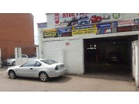 GARAGE BUSSINESS FOR SALE