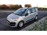 Citroen C3 Picasso 1.6HDi(60plate)Only 32,000mls,Air Con,Full Service History