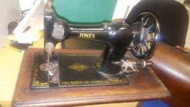 vintage sewing machine Jones