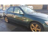 LEXUS IS200 AUTOMATIC, FULL SERVICE HISTORY.