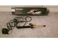 Babyliss curling tongs plus free bendy rollers