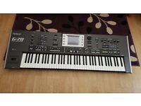 Roland G70 workstation arranger keyboard