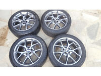 "16"" BBS ALLOY WHEEL AND TYRE SET"