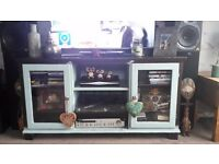 Shabby Chic TV Unit Solid wood