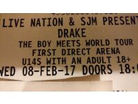 Drake tickets in LEEDS first direct arena (08/07/17) for sale