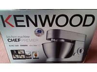 Kenwood Premier Chef KMC560 Food Mixer and Appliance Bundle - New- Unused