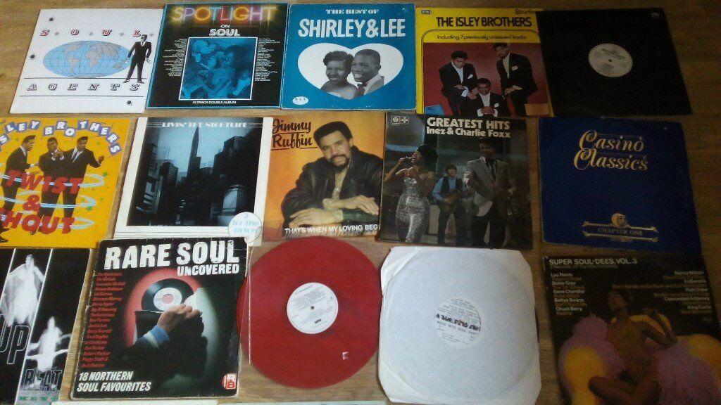 30 x northern soul / modern soul vinyl