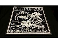 "sub pop 200 3 x 12"" vinyl nirvana mudhoney tad soundgarden etc"