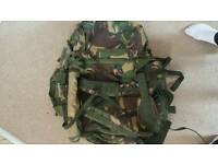 120 litre dpm army berghan with sidepouch