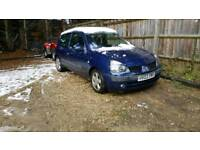 2003 renault clio 1.5dci (£30 year tax)