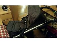 Sola 2 mtx Denim blue Pushchair and Carrycot