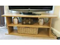 Tv stand *like new* pine effect
