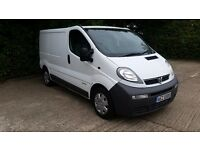VAUXHALL VIVARO 2004 1.9DCI, 6 SPEED GEARBOX, TAX AND MOT, LOW MILEAGE, PLY LINED