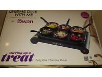 Swan party wok brand new in box