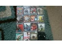 Ps3 15 games and 2 Controls all leads mint condition