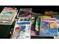 Television magazine repair manuals