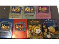 The Simpsons DVD collection series 1-7