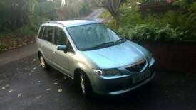 ***SOLD*** Low mileage Mazda Premacy. MOT to April 18 (Scenic, Zafira, Picasso)