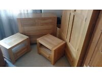 Solid Oak Bedroom Furniture Suite