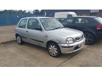Nissan Micra Celebration for spares & repairs
