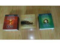 3 x games of thrones audio books storm of swords / feast for crows x 75 cds for sale  Chesterfield, Derbyshire