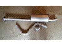Mondeo mk3 exhaust middle box,bend and clamp