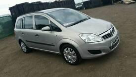 2008 Vauxhall zafira 1.6 Petrol