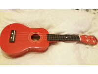 Red Ukulele, great for starters!