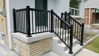 Aluminum Porch Railings Toronto Newmarket Scarborough