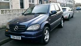 Mercedes-Benz ml270 Automatic family 7-seater full year mot