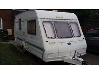 Bailey Ranger 2 birth touring caravan £2000 for quite sale