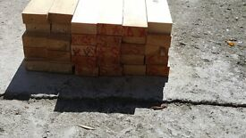 2x1 joinery grade softwood (30 x 2.4m lengths = 72m)