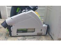 FESTOOL TS 55 REQ GB 110V CIRCULAR SAW & 1x1.4m Rail