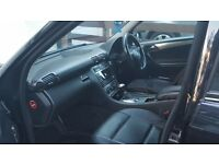2006 BLACK AUTOMATIC MERCEDES BENZ C180k,LEATHER SEAT, MOT DUE JUNE 2017 AIR CONDITIONING, ,