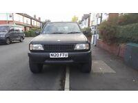 4X4 Matt Black Vauxhall Frontera 2L
