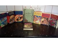 Harry Potter collection 7 books plus the hobbit hard back