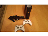 Xbox 360 with kinect and 45 games