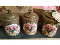 Beautiful Kitchen canisters