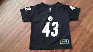 NFL Pittsburgh Steelers Troy Polamalu #43:Toddler Jersey size 4T