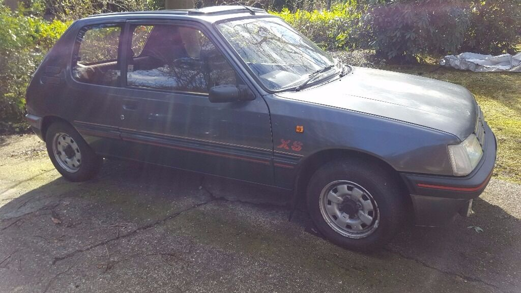 peugeot 205 xs 1360 cc 1991 j reg in camberley surrey gumtree. Black Bedroom Furniture Sets. Home Design Ideas