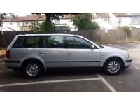 VOLKSWAGEN PASSAT ESTATE 1.8 CHEAP ON FUEL AND INSURANCE MOT 06/2017 ready to drive