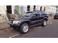 Jeep Grand Cherokee 2.7 CRD Limited Station Wagon 4x4 5dr, low mileage