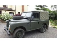 Series 3 Land Rover (1983) Very Good Condition with New Petrol Engine 11months MOT