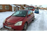 Honda Civic 2001 petrol 1,6 perfect condition